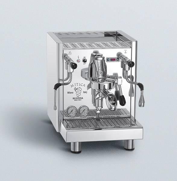 Bezzera Mitica Top PID Tank und Festwasser mit Rotationspumpe